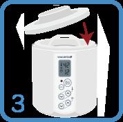 ABCT種菌を使ったヨーグルトの作り方3