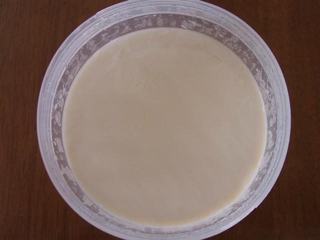 豆乳ヨーグルトの写真