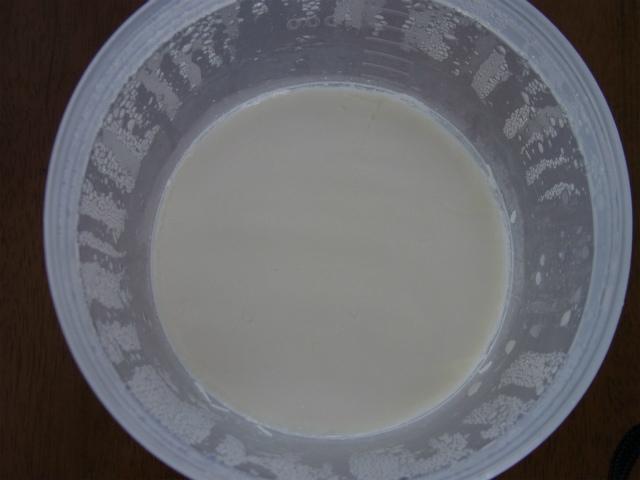 スキムミルクヨーグルト