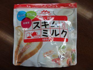 森永スキムミルクのパッケージ