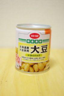 コープ大豆ドライパックのパッケージ