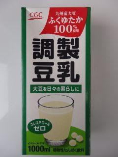 CGCふくゆたか調整豆乳のパッケージ