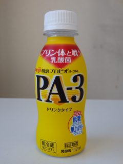 PA-3ドリンクのパッケージ