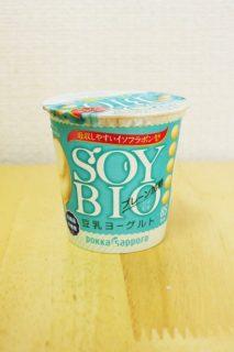 SOYBIO豆乳ヨーグルトのパッケージ