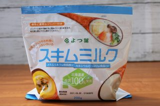 よつ葉スキムミルクのパッケージ