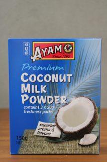 ココナッツミルクパウダーのパッケージ