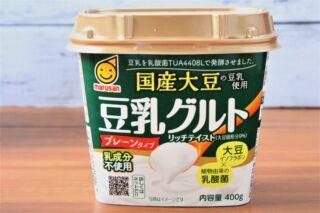マルサン豆乳グルト(国産豆乳使用)のパッケージ